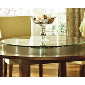 Avenue Lazy Susan, 40'' Round, Triple Edge Glass