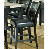 Monarch Counter Parsons Chair, Black Finish