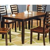 Abaco Table, Acacia Finish
