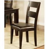 Mango Side Chair, Espresso Finish
