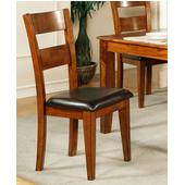 Mango Side Chair, Light Oak Finish