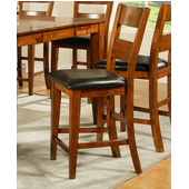 Mango Counter Stool, Light Oak Finish
