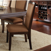 Cornell Side Chair, Merlot cherry finish, 24''W x 20''D x 41''H