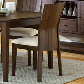 Harlow Side Chair, Warm brown cherry finish, 19''W x 22''D x 36''H