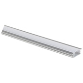 illumaLED™ 002 Series 48'' Recessed Aluminum Housing Profile, Frosted Lens, 48'' Length x 1'' W x 5/16'' H