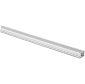 illumaLED™ 007 Series 48'' Flat Aluminum Housing Profile, Clear Lens, 48'' Length x 5/8'' W x 3/8'' H