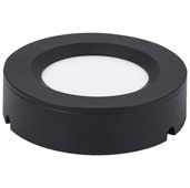illumaLED™ TandemLED™ 2-3/4'' Diameter Black Housing Tunable Multi-White Puck Light, 2-3/4'' Diameter x 5/8'' H