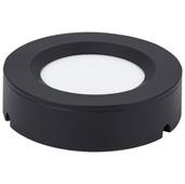 illumaLED™ TandemLED™ 2-3/4'' Diameter Black Housing Tunable Multi-White Puck Light, 2-3/4'' Diameter x 5/8'' H