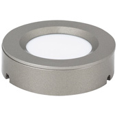 illumaLED™ TandemLED™ 2-3/4'' Diameter Dark Silver Housing Tunable Multi-White Puck Light, 2-3/4'' Diameter x 5/8'' H