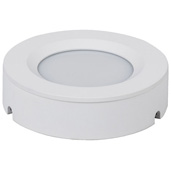 illumaLED™ TandemLED™ 2-3/4'' Diameter White Housing Tunable Multi-White Puck Light, 2-3/4'' Diameter x 5/8'' H