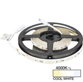 illumaLED™ Radiance Series 16' Foot LED Tape Light, Medium Light Output, Cool White 4000K, 197'' Length x 5/16''W x 1/16'' H
