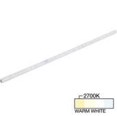 sempriaLED® A Series Model SA9E 6-3/4'' Angled Mini Strip Light Frosted Fixture, Medium Light Output, Warm White 2700k, 6-3/4'' Length x 1/2'' W x 5/8'' H