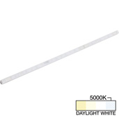 sempriaLED® A Series Model SA9Q 24-3/4'' Angled Mini Strip Light Frosted Fixture, High Light Output, Daylight White 5000k, 24-3/4'' Length x 1/2'' W x 5/8'' H