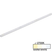 sempriaLED® F Series Model SF9Q 6-3/4'' Flat Mini Strip Light Fixture, High Light Output, Warm White 2700k, 6-3/4'' Length x 1/2'' W x 1/2'' H