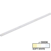 sempriaLED® F Series Model SF9Q 30-3/4'' Flat Mini Strip Light Fixture, High Light Output, Soft White 3000k, 30-3/4'' Length x 1/2'' W x 1/2'' H