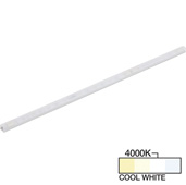 sempriaLED® F Series Model SF9Q 30-3/4'' Flat Mini Strip Light Fixture, High Light Output, Cool White 4000k, 30-3/4'' Length x 1/2'' W x 1/2'' H