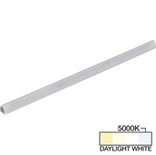 sempriaLED® S Series Model SS9H 12-3/4'' LED Angled Strip Light Fixture with Shield, Higher Light Output, Daylight White 5000K, 12-3/4'' Length x 3/4'' W x 11/16'' H