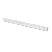 Italian Designs Collection Long Ruler Pull in Bright Chrome, 8-1/4''W x 1/2''D x 1/2''H