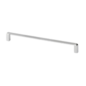 Italian Designs Collection Thin Modern Cabinet Pull in Bright Chrome, 7-7/8''W x 1''D x 1/8''H (CTC 7-9/16'')