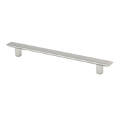 Italian Designs Collection Thin Rectangular Pull in Bright Chrome, 7-7/8''W x 7/8''D x 1/2''H (CTC 6-5/16'')