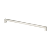 Stainless Steel Collection Thin Square Pull, 14-1/16''W x 1-1/2''D x 7/16''H (CTC 13-1/2'')
