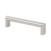 Stainless Steel Collection Oval Pull, 8-3/8''W x 15/16''D x 7/8''H (CTC 7-1/2'')