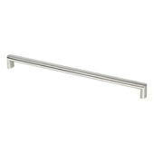 Stainless Steel Collection Oval Pull, 14-15/16''W x 15/16''D x 7/8''H (CTC 13-1/2'')