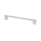 Stainless Steel Collection Rectangular Pull, 7-1/8''W x 1/3/8''D x 3/16''H (CTC 6-5/16'')