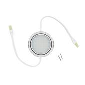 3W Nickel 5000K LED Pockit T2 Linkable Light, 120V, Double Lead (input/output)