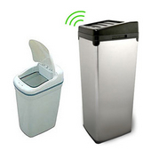 Pull out built in trash cans cabinet slide out under sink kitchen trash cans - Small pull out trash can ...