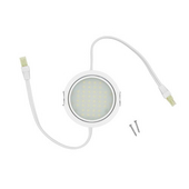 3W White 5000K LED Pockit T2 Linkable Light, 120V, Double Lead (input/output)