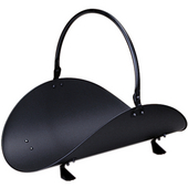 - 19'' Woodbasket, Black