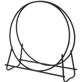 - 40'' Dia. Log Hoop, Black