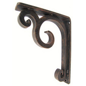 Keaton Corbel / Countertop / Shelf Brackets, Multiple Finishes, 12''D max