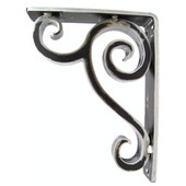 Linley Corbel / Countertop / Shelf Brackets, Multiple Finishes, 17''D max