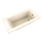 OVO 60'' W x 32'' D Contemporary Biscuit Rectangular Acrylic Drop-In Bathtub, 60'' W x 32'' D x 20'' H