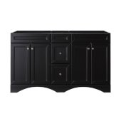 Talisa 60'' Single Bathroom Vanity, Espresso, Cabinet Only, 59-1/10'' W x 21-2/5'' D x 35-1/5'' H