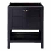 Winterfell 30'' Single Bathroom Vanity Cabinet in Espresso