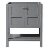 Winterfell 30'' Vanity Base Cabinet Only in Grey, 29-3/16'' W x 21-11/16'' D x 35-3/16'' H