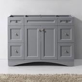 Elise 48'' Single Bathroom Vanity Cabinet in Grey, 47-3/16''W x 21-5/8''D x 35-3/16''H