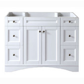 Elise 48'' Single Bathroom Vanity Cabinet in White, 47-3/16'W x 21-5/8'D x 35-3/16'H