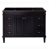 Tiffany 48'' Single Sink Bathroom Vanity Cabinet in Espresso, 47-3/16''W x 21-5/8''D x 35-3/16''H