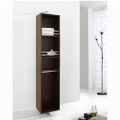 Marcel 14'' Vanity Side Linen Cabinet, Walnut