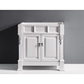 Huntshire 36'' Bathroom Vanity Cabinet Only in White, 35-3/16''W x 22-1/16''D x 33-7/8''H