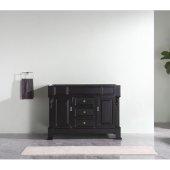 Huntshire 48'' Single Sink Bathroom Vanity Cabinet Only in Dark Walnut