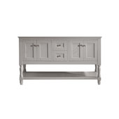 Julianna 60'' Bathroom Vanity Cabinet Only in Cashmere Grey Finish