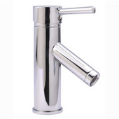 Single Handle Bathroom Faucet in Polished Chrome, 2'' W x 5-1/2'' D x 7'' H
