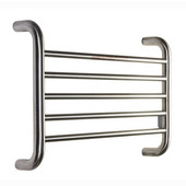 Koze Collection Towel Warmer, Brushed Nickel, 23-3/5''W x 4-7/10''D x 16-1/2''H, 55 Watts, 0.46 Amps