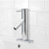 VG01008CHK1, Single Lever Chrome Finish Faucet with Deck Plate