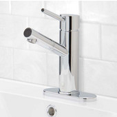 VG01009CHK1, Noma Single Lever Chrome Finish Faucet with Deck Plate